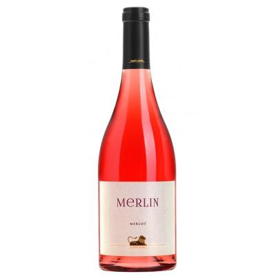 MERLIN MERLOT ROSE DRY WINE...
