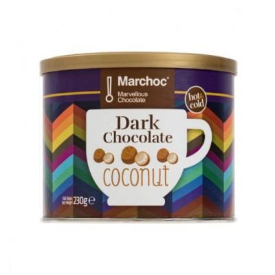 DARK CHOCOLATE AND COCONUT...