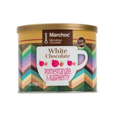 WHITE CHOCOLATE POMEGRANATE...