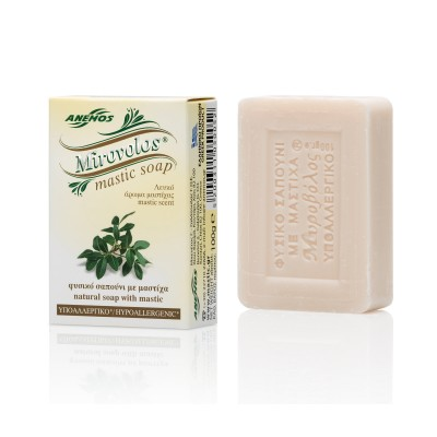 WHITE MIROVOLOS SOAP WITH...