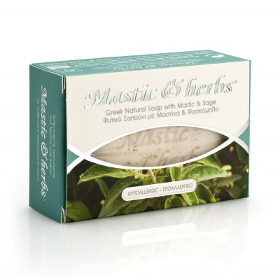 MASTIC & HERBS SOAP WITH...