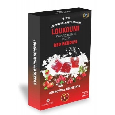 GREEK LOUKOUMI WITH RED...