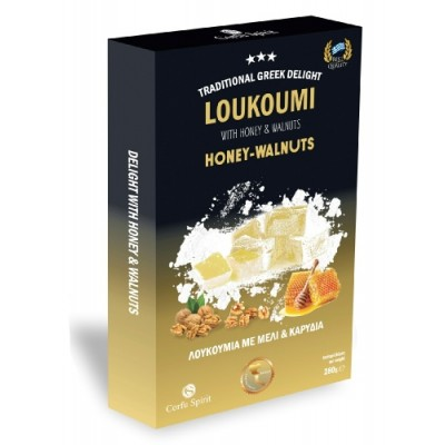GREEK LOUKOUMI WITH HONEY &...