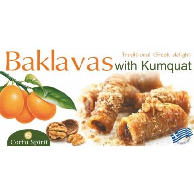 GREEK BAKLAVA WITH KUMQUAT...