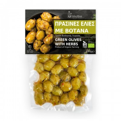 WHOLE GREEN OLIVES ORGANIC...