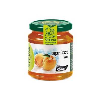 APRICOT JAM WITH STEVIA IN...